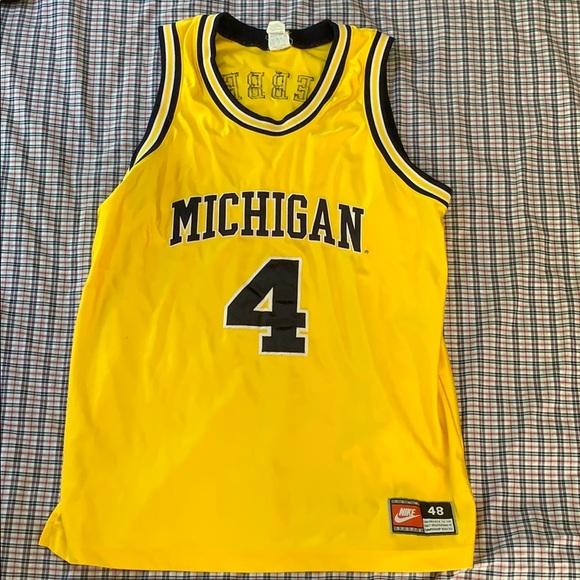 the best attitude 1a277 af735 Chris Webber size 48 Nike team sports jersey.